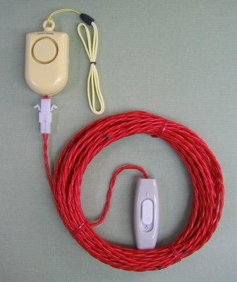 住宅の放火のおそれがある場所に手軽に設置できる/放火警報器の開発製品