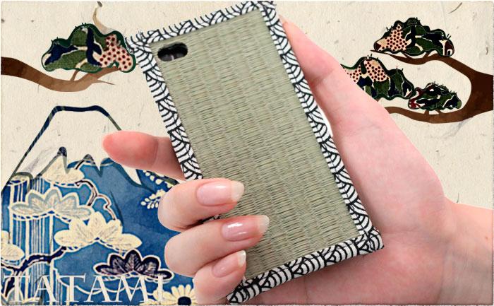 千年以上の歴史を誇る日本文化とiPhoneの合体作!『iPhone4専用★TATAMI Case 畳ケース』販売開始。