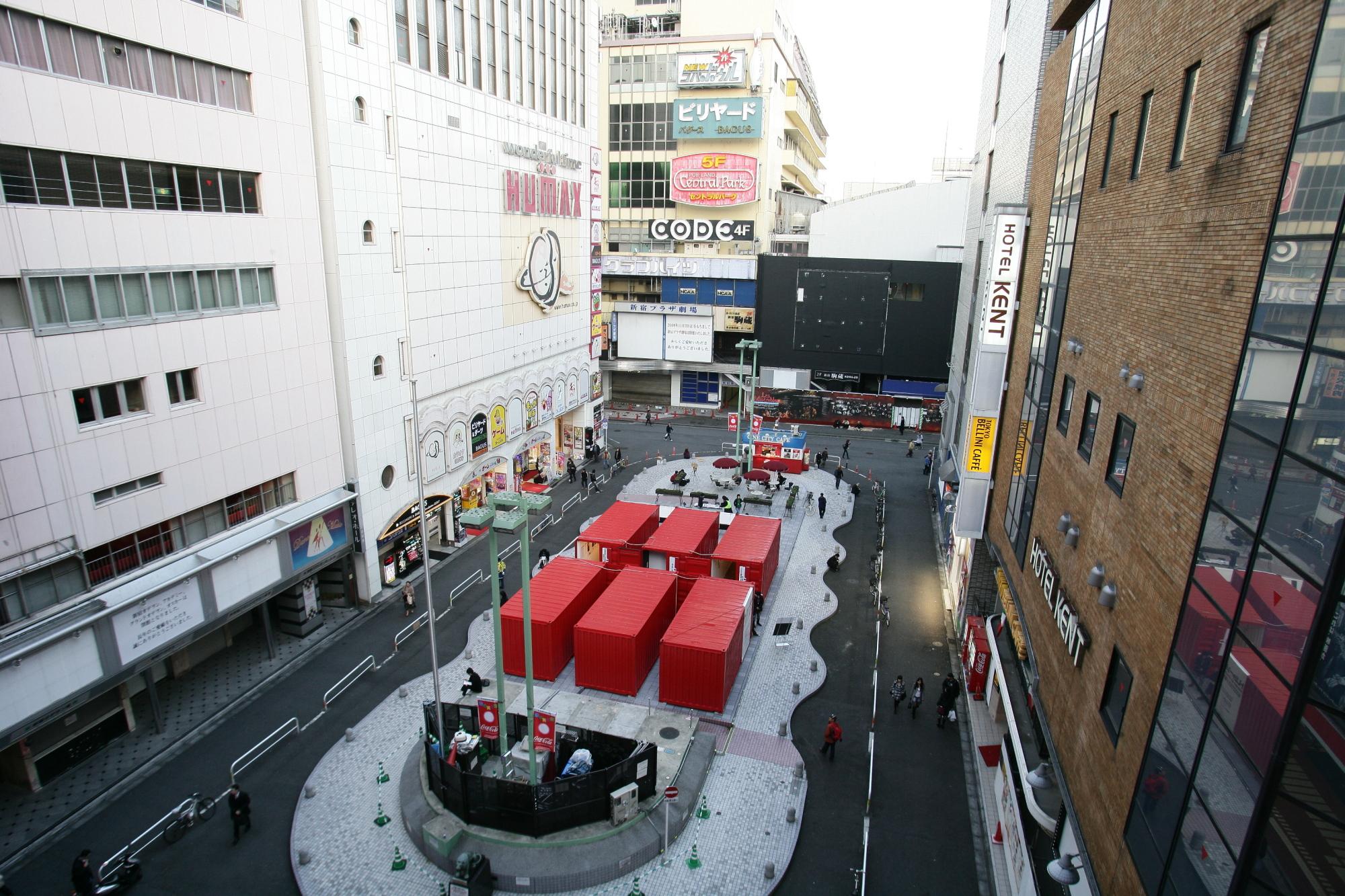 歌舞伎町アートサイト The Challenge of Public Media Art パブリックメディアアートの挑戦