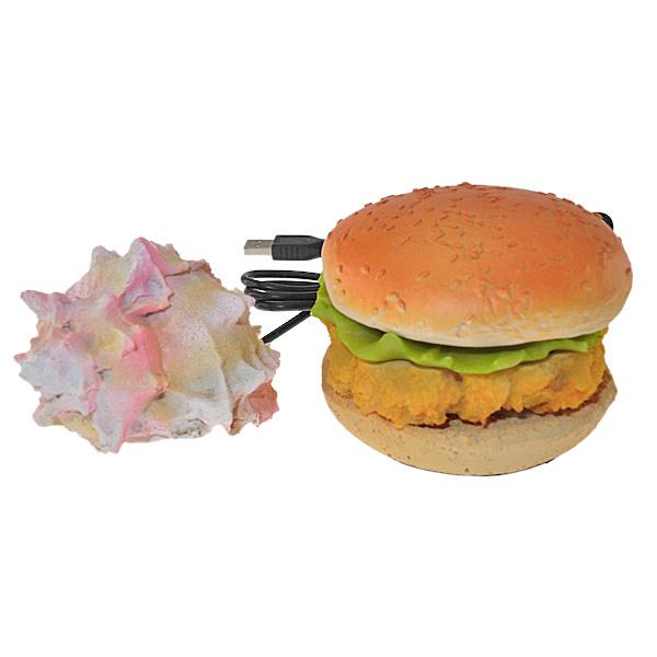 【上海問屋限定販売】大好評 面白USBハブシリーズ 美しいサザエ&美味しそうなハンバーガー 販売開始