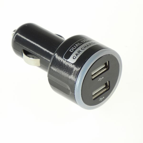 【上海問屋限定販売】 長時間のドライブ中も スマホの電池切れの心配なし 車内でも簡単にUSB機器を充電 2ポート シガーソケット用USBアダプタ 販売開始