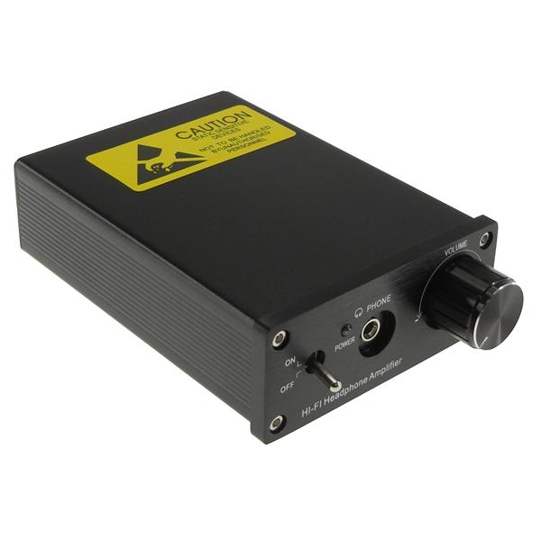 【上海問屋限定販売】 手軽な価格で良い音を堪能 バーブラウンのOPA604使用 ヘッドホンアンプ 販売開始