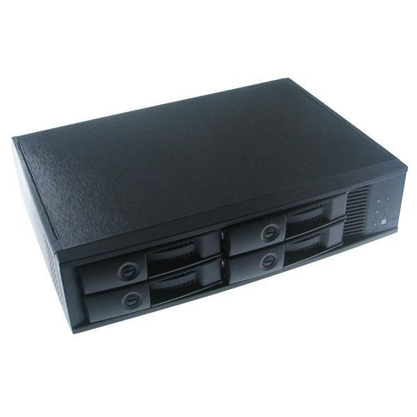 【上海問屋限定販売】 大量のデータ保存に大活躍  RAID機能つき3.5インチSATAハードディスク外付けケース 4台用・8台用販売開始