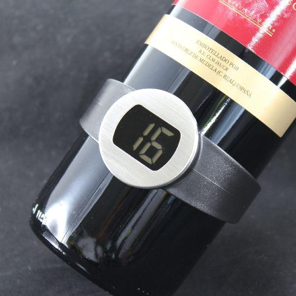 【上海問屋限定販売】 ワインをもっと美味しくいただくために 適性保管温度を確認できる ワイン温度計 販売開始