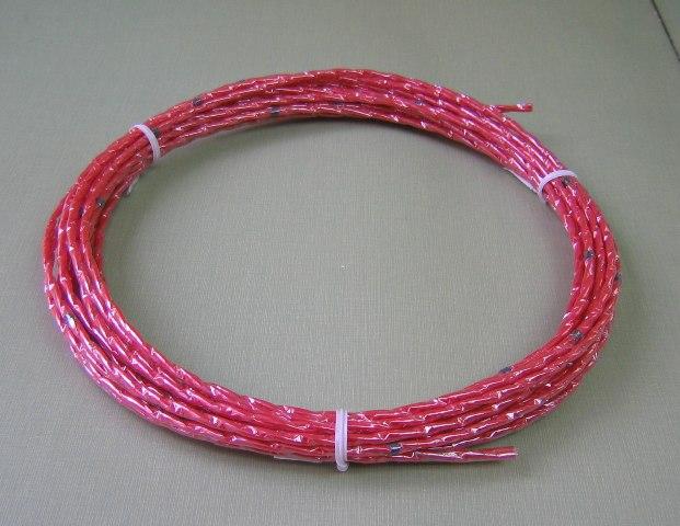 シース被覆を施した温度センサ(電線一体型の形状記憶)/シース形温度感知線の新製品