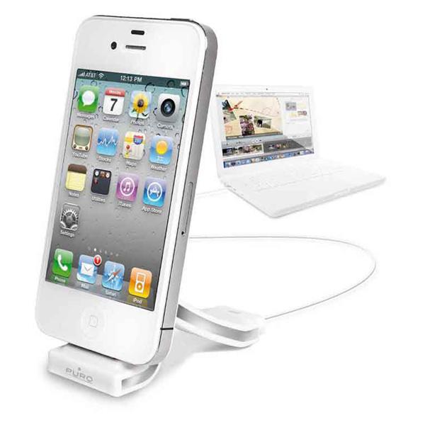 【上海問屋】 大人気 イタリアからきたiPhone4/4S アクセサリー プーロ クールな充電台 販売開始