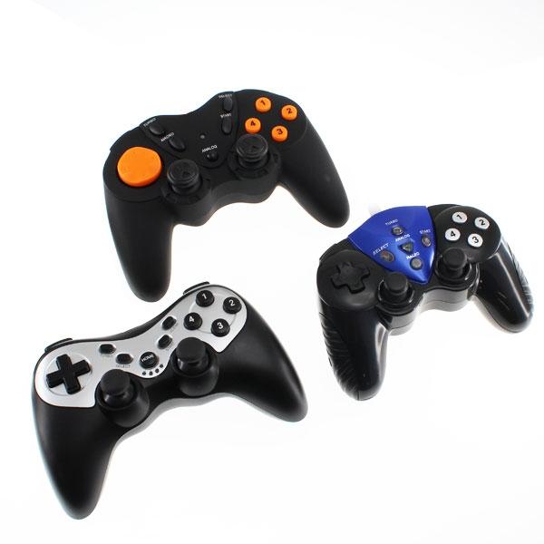 【上海問屋限定販売】PCゲームをとことん楽しむPS3 PC 対応 アナログスティック搭載 12ボタンUSBゲームパッドシリーズ 販売開始