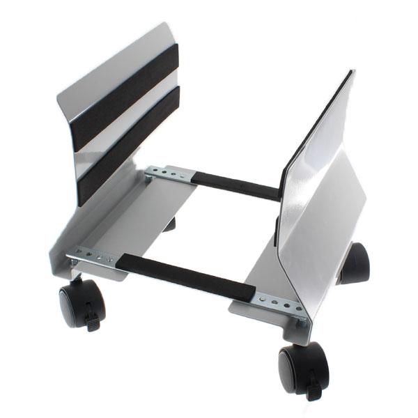 【上海問屋限定販売】 キャスターつきでデスクトップPCを楽々移動 背面のメンテナンスや掃除の際に大活躍 キャスター付きパソコンスタンド(CPUスタンド) 販売開始