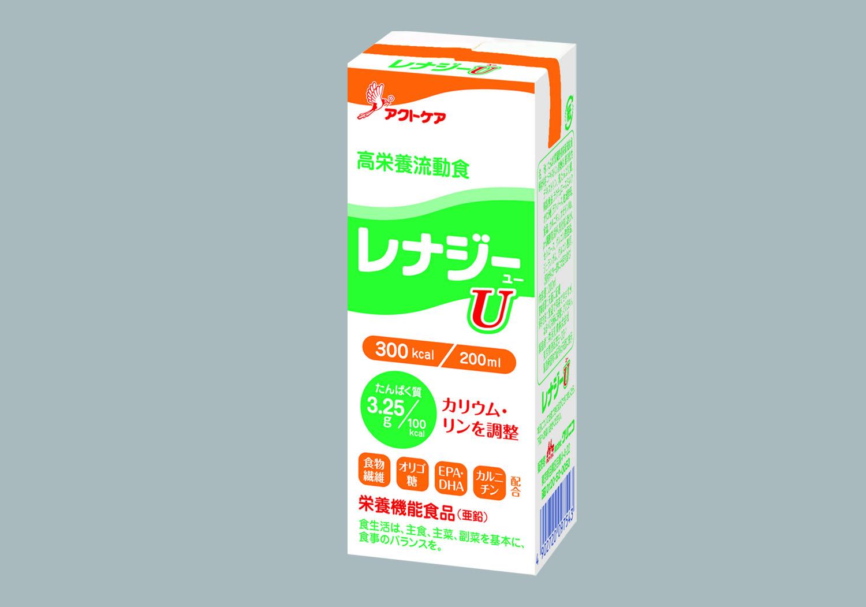 特定の病態下における長期的な栄養管理に配慮した高栄養流動食「レナジーU」2 月10 日(金)新発売
