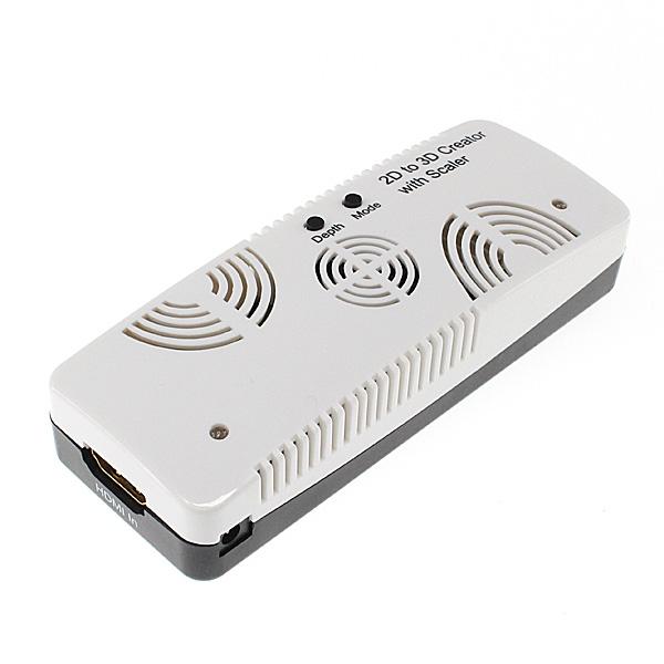 【上海問屋限定販売】3D対応モニターに繋げば2Dがすぐに3Dで見られる むかし録った映像も3Dで復活 2D/3D変換 HDMIコンバーター 販売開始