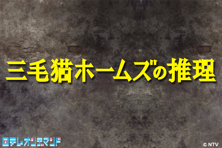 4月スタートの日本テレビ新ドラマ 「三毛猫ホームズの推理」「クレオパトラな女たち」を 「ビデオマーケット」にてスマホ向けに見逃し配信決定!!