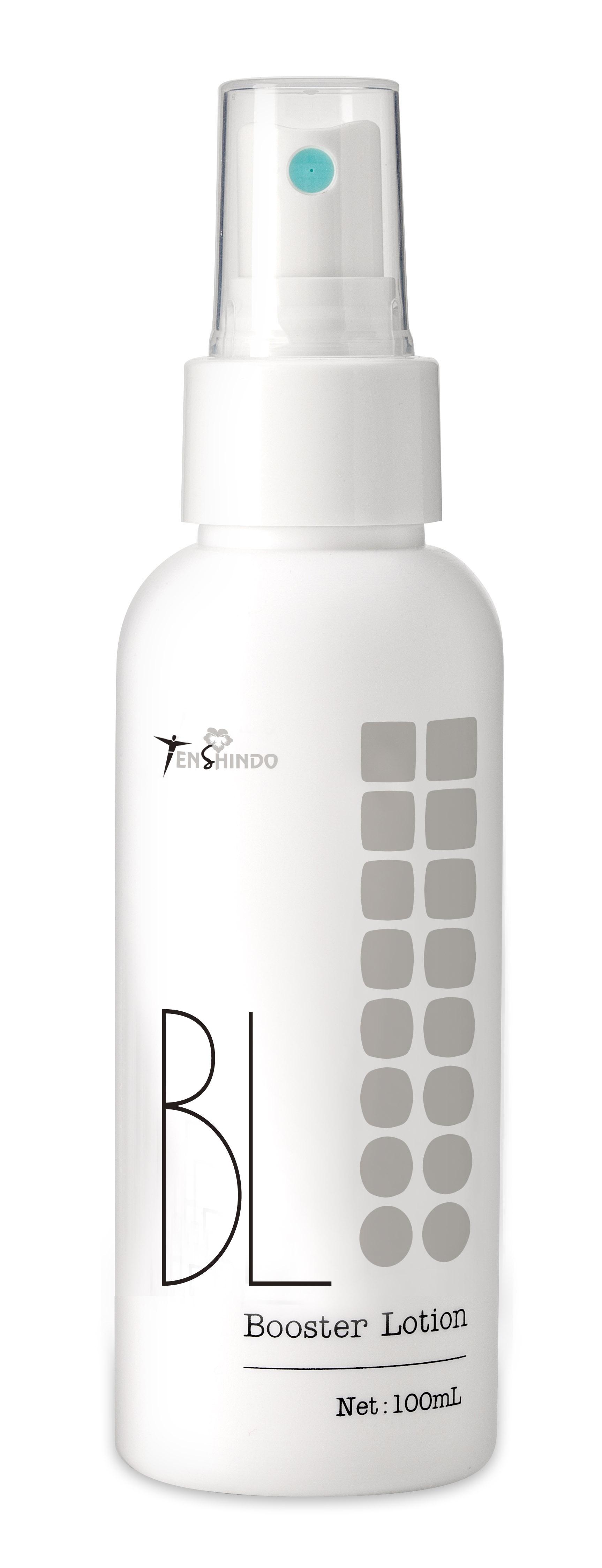 シュっとひとふき。いつもの化粧水が、さらに染み込む!pHコントロールで柔らか美肌 美容成分8種配合 薬用導入型美容水 【ブースターローション】 日焼けの後にもワンプッシュでシミ対策