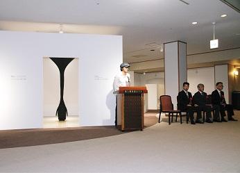 現代アート展示室「Arts Cube 奥入瀬」オープン。