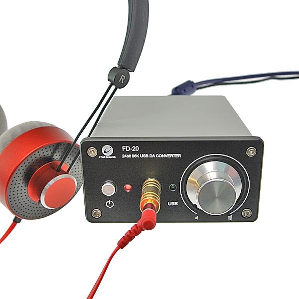 【上海問屋限定販売】USB接続 DAC機能つきヘッドフォンアンプ 販売開始 DAコンバーターにBB1798採用