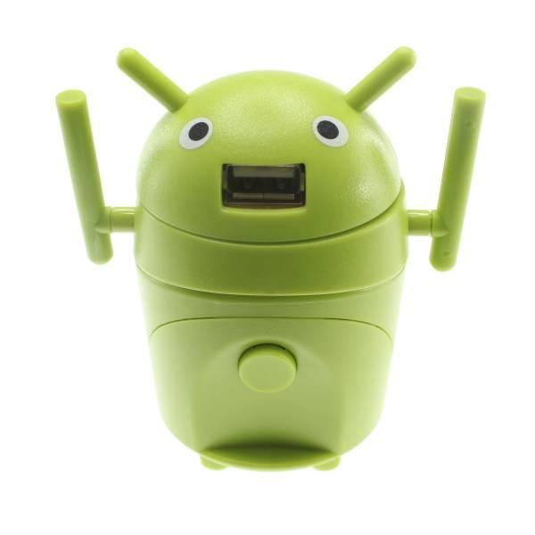 【上海問屋限定販売】 海外旅行の必需品 とにかく可愛い ロボット型のAC変換アダプター販売開始
