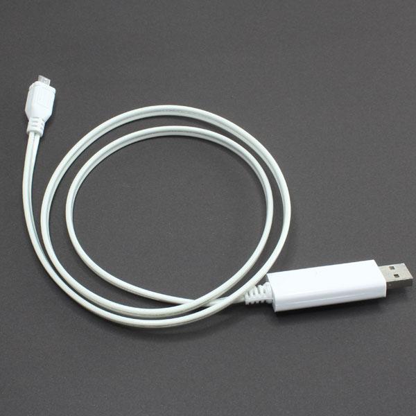 【上海問屋限定販売】 iPhoneやiPad スマホなど充電中は光ってお知らせ LEDが光って状況がわかるUSB充電ケーブル 販売開始