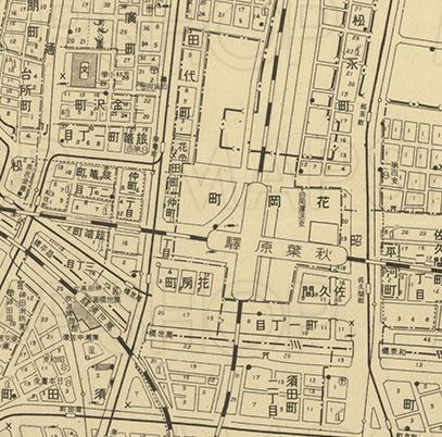 郷土史、都市史、地理、歴史などの資料としても貴重。MAPSHOPにて東京大空襲前の東京の現況を表した地図 「大東京区分図 三十五区」好評発売中!