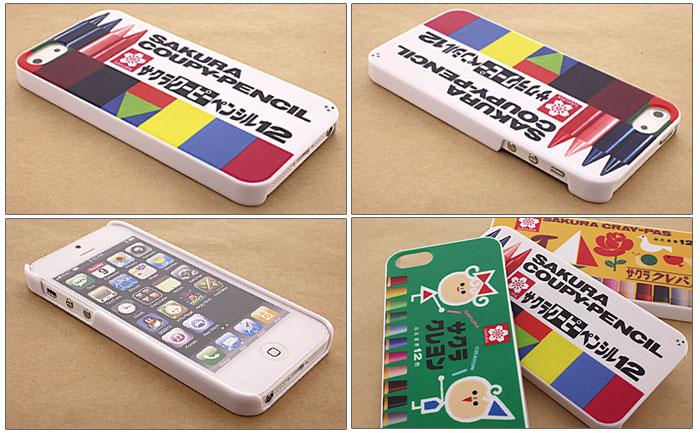 iPhone5を、懐かしいサクラクレパスのパッケージで彩ります。誰もがノスタルジーに浸れるお絵かきグッズが、iPhone5ケースになって新発売♪