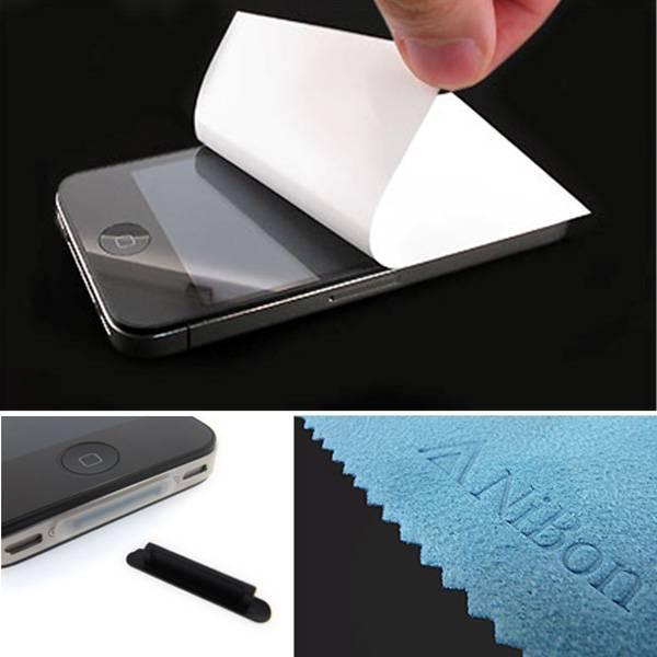 【上海問屋限定販売】iPhone4 4S用高品質フィルム 貼りやすくて傷や指紋がつきにくい保護フィルム 販売開始