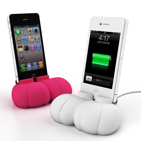 【上海問屋限定販売】iPhoneスタンド 究極のかわいさ ウサギの足型デザインスタンド 販売開始