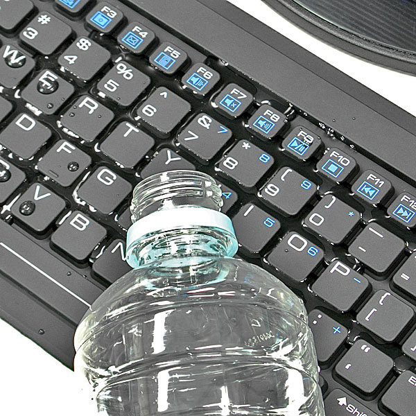 【上海問屋限定販売】汚れたら洗えるキーボード 防水仕様USB接続キーボード 販売開始