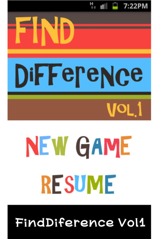 アンドロイド専用アプリ 「FindDifferenceシリーズ」