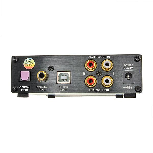 【上海問屋限定販売】4系統入力を簡単切替可能 TENOR社のTE7022 (24bit-96kHz) を採用 USB DAC機能つきヘッドフォンアンプ 販売開始