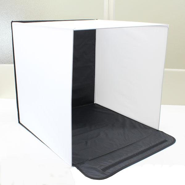 【上海問屋限定販売】 自宅を写真スタジオに バックスクリーンつき折り畳み式写真撮影ボックス 販売開始
