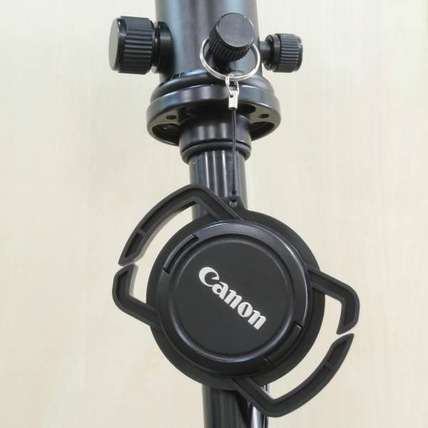 【上海問屋限定販売】あれ?どこいった? 一眼レフカメラのキャップをなくさないための一工夫 レンズキャップホルダー 販売開始
