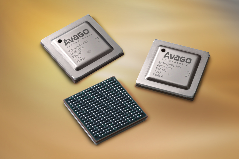 アバゴ・テクノロジー、 100GbE/OTN用28nm CMOSトランシーバ「Vortex Gearbox」を発表 32dBのチャンネル損失に対応可能な10:4のギアボックス用PHYチップ、 大規模ネットワーク向けにサンプル出荷を開始