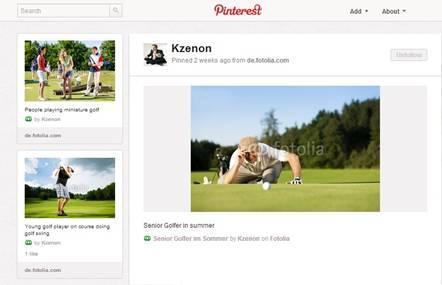 Fotolia、画像共有SNS「Pinterest」上に画像情報を提供 クリエイターの販促活動に新たな選択肢を追加