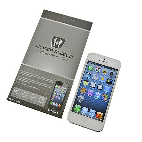 【上海問屋限定販売】 スマホの液晶部分にはっておけば傷を自動修復するフィルム iPhone5用 GALAXY Note II用 販売開始