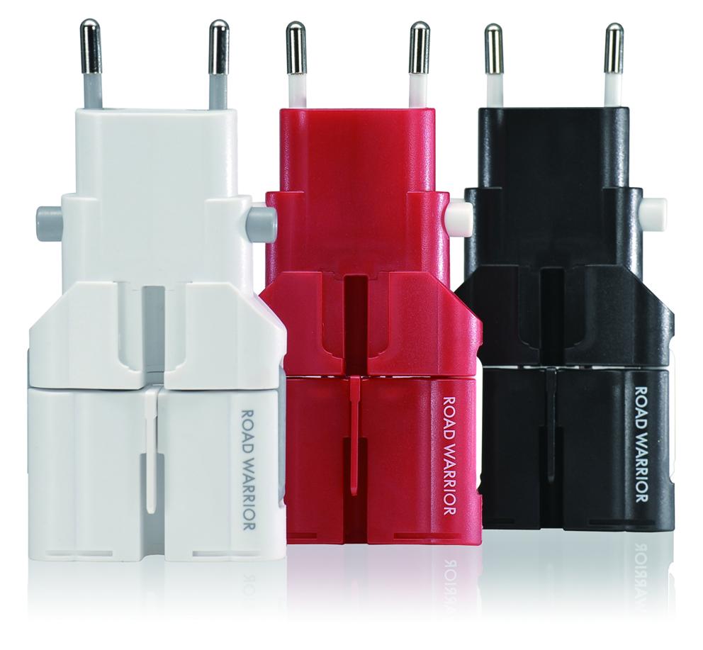 海外で携帯電話,スマートフォン,ノートPC などを使うすべての方に 電源変換アダプター ゴーコンW2(専用ケース付き)