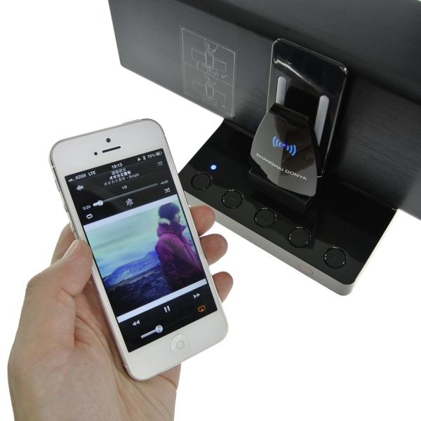 【上海問屋限定販売】AppleドックスピーカーをワイヤレスにiDock用Bluetoothスピーカードングル販売開始