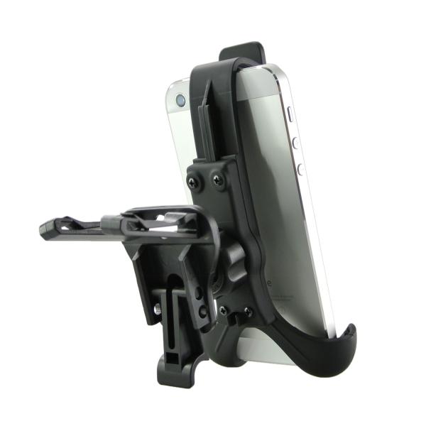 【上海問屋限定販売】iPhoneやスマホをナビのように使うとき 車のエアコン吹き出し口に固定 エアーベントフィン取付タイプ  スマホホルダー 販売開始