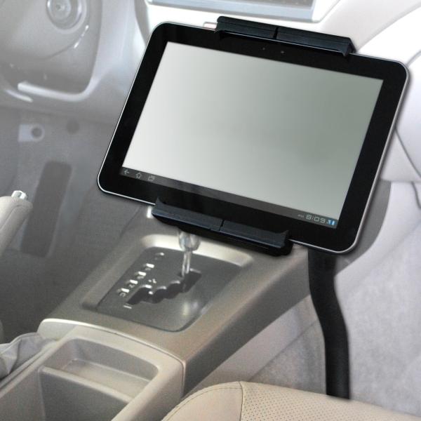 【上海問屋限定販売】タブレットをもっと便利に使いたい 車内にアームをつけてみよう 7から10インチタブレット用ホルダーつき車載アーム 販売開始