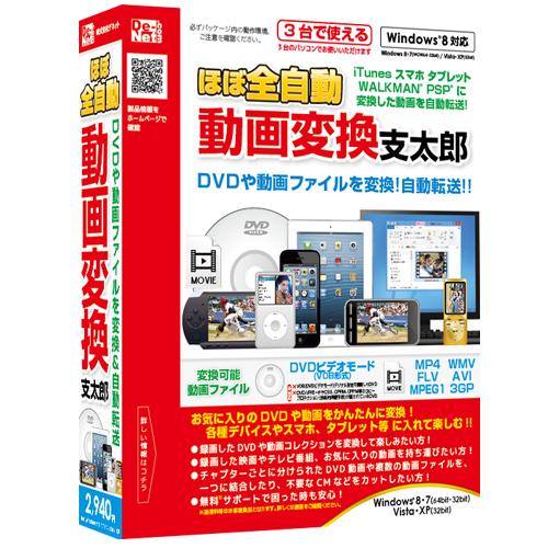 パソコンソフト 動画変換ソフト発売!