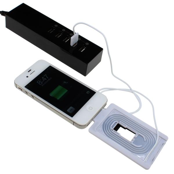 【上海問屋限定販売】スマホの充電ケーブル バッグの中でも絡まっていないからイライラしらず カードタイプUSBチャージケーブル 販売開始