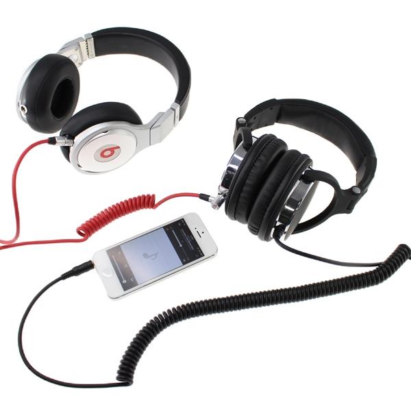 【上海問屋限定販売】1台のプレーヤーで2人同時に聴けるヘッドホン 遮音性が高くDJプレイにも最適 ミュージックシェア機能搭載ヘッドホン 販売開始