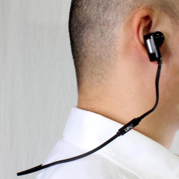【上海問屋限定販売】 イヤーカナル部分が360度回転で自分の耳にピッタリマッチ ワイヤレスの開放感 フィット感がすばらしいBluetooth対応イヤホン 販売開始