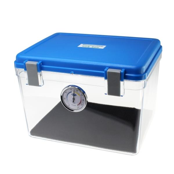 【上海問屋限定販売】 大切なカメラを湿気から護る 湿度計つきで乾燥状態が分かりやすい カメラ用ドライボックス 販売開始