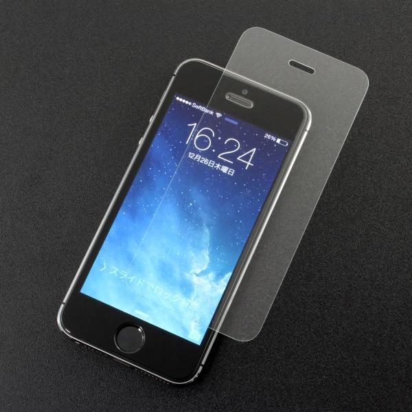 【上海問屋限定販売】 液晶画面をガラスで護ろう 薄い・軽い・美しい 従来より薄い0.15mm iPhone5S/5C/5用 iPad mini用ガラスフィルム販売開始