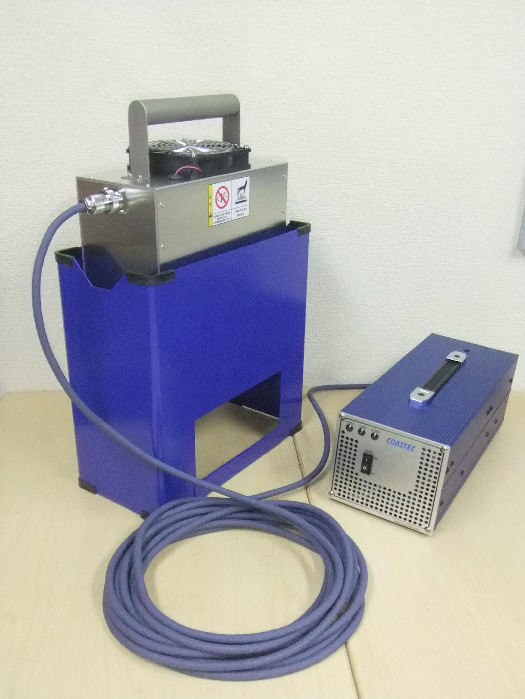 マイクロプロセッサー搭載UV照射器の発売開始 従来機器重量の65%の軽量化(当社比)に成功!