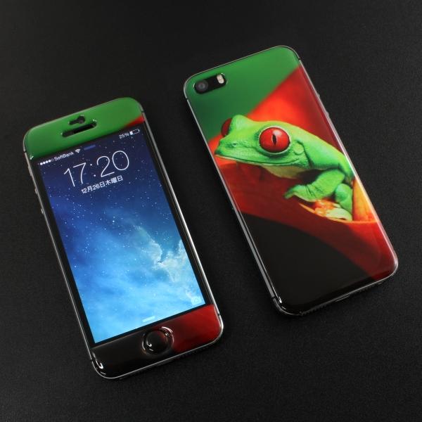 【上海問屋限定販売】 iPhone5S/5を傷から護ろう アニマル柄がかわいい エポキシステッカー販売開始