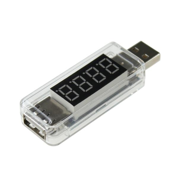 【上海問屋限定販売】 USB充電器の性能チェックや故障かな?の原因追求に USB電流&電圧チェッカー 販売開始