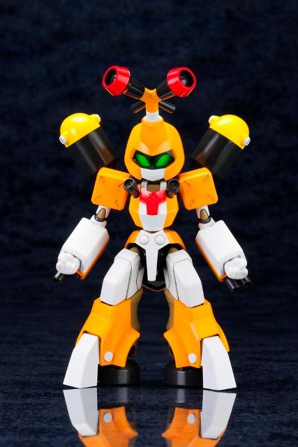 アニメ・ゲーム化もされた人気シリーズ『メダロット』より主役機登場 カブト型の可変機体「サイカチス」2014年9月発売