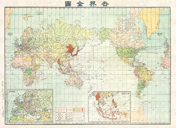 美しい「レトロマップ」と学習やビジネスに使える「地方別白地図」  MAPSHOPにて『大東京精密図』などの「レトロマップ」と 「地方別白地図」の画像をダウンロード販売にて取扱い開始!