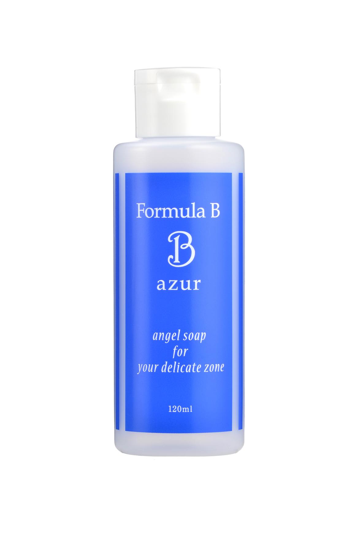 弱酸性で優しく、消臭、色素沈着を防ぐ植物エストロゲン配合 女性用デリケートゾーンソープ「フォーミラBアジュール」2014年7月31日(木) 新発売