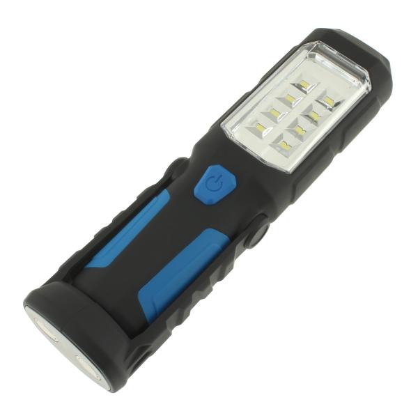 【上海問屋限定販売】 とにかく便利なLEDライト 懐中電灯にもランタンにもなる便利機能いろいろ 2Way LEDハンディライト 販売開始