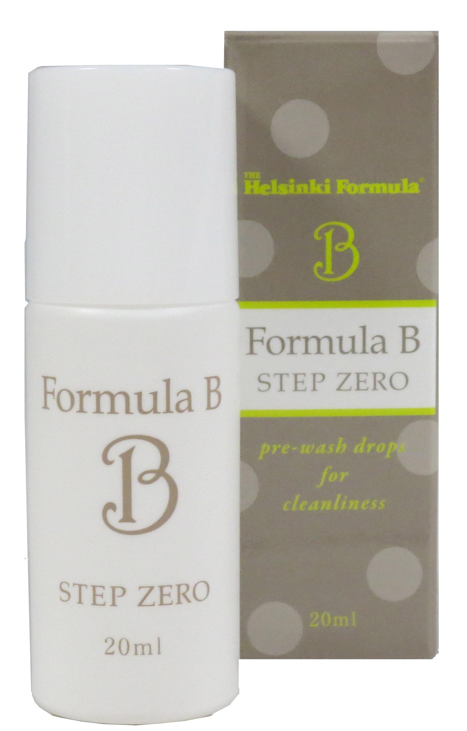 トラブル肌対策 洗顔前の新習慣スキンケア 洗顔では落ちない毛穴の詰まりを乳化剤で取り除く「フォーミュラB STEP ZERO」2014年11月1日新発売